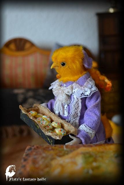 Sofia D'Kokowill world of dolls Anthrogon Zlata's fantasy dolls
