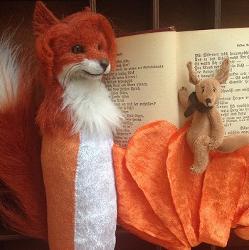 The process of creating fox anthro doll