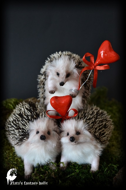 Zlata S Fantasy Dolls Baby Hedgehog N11 13 14 15
